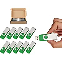 TOPESEL 10 Pack 16GB USB 2.0 Flash Drive Memory Stick...