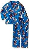 Disney Boys Rudolph The Red Nose 2-Piece Pajama Coat Set, 12M, Winter Breeze
