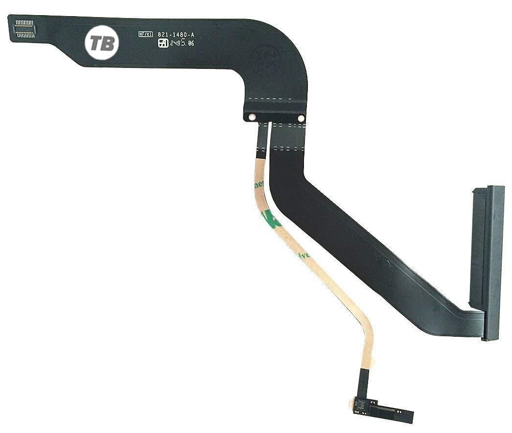 TB® Cable de reemplazo para Disco Duro de Macbook Pro A1278, Número de pieza: 821-1480-A, solo para el año 2012 Número de pieza: 821-1480-A solo para el año 2012 JSDL