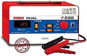 Ferve - Battery Charger Dual 35 140Ah F2312, color 0: Amazon ...