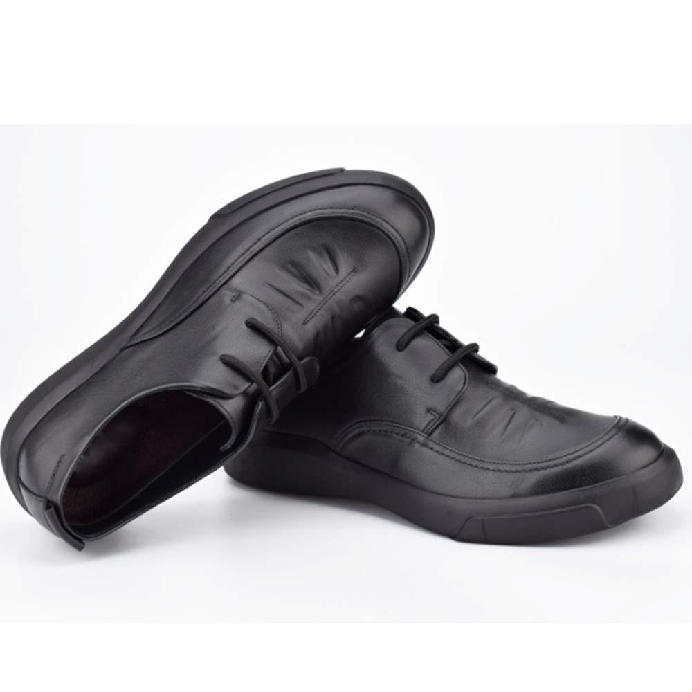 HhGold Männer Schnüren Den Derby Business Casual Schuhe Weiches Leder Leder Leder Fahr Schuhe (Farbe   1, Größe   38EU) 72f3dd