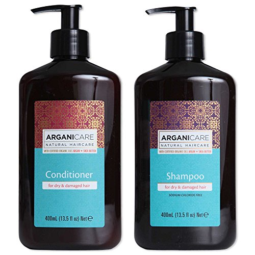 Arganicare Shampoo and Conditioner for Dry Hair Enriched wit