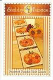 Shabby Fabrics Patchwork Pumpkin Table Runner Pattern