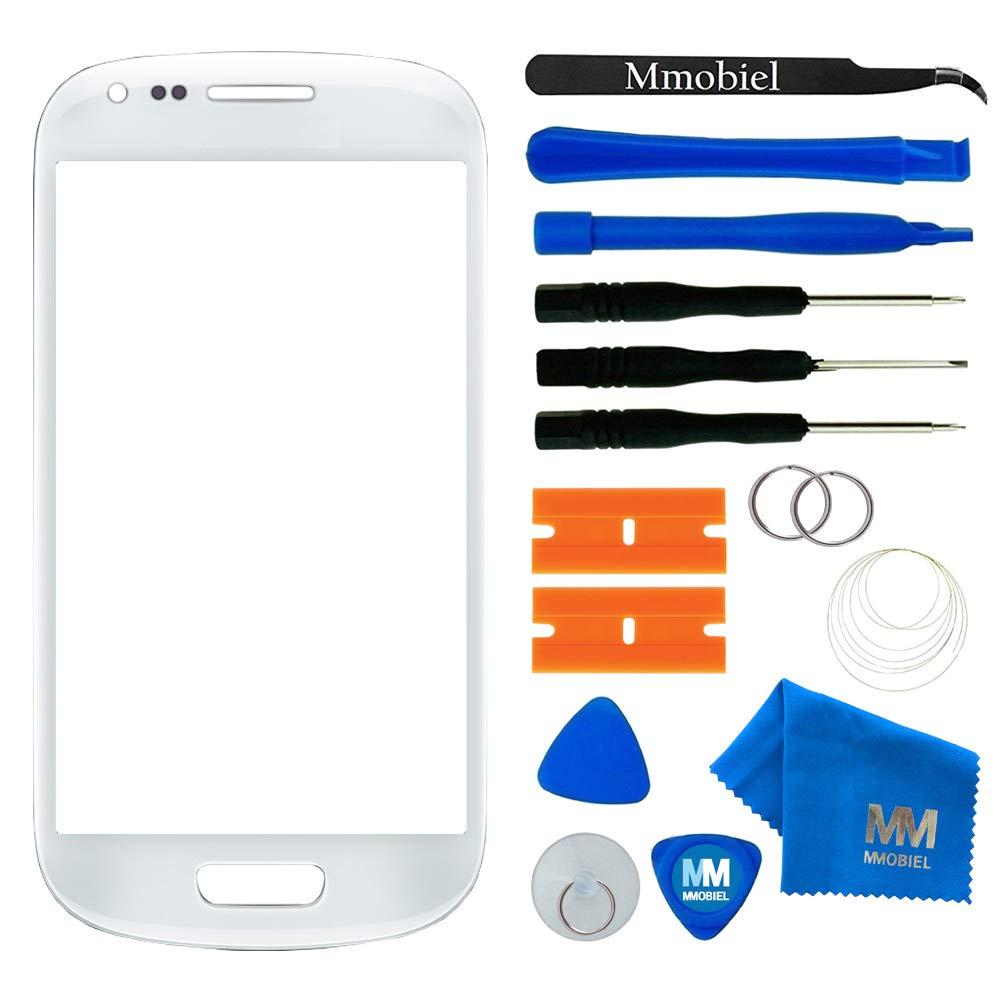 MMOBIEL Kit de Reemplazo de Pantalla Táctil para Samsung Galaxy S3 i9300 i9305 / S3 Neo i9301 Series (Blanco) Incl Kit de Herramientas/Pinzas/Cinta ...