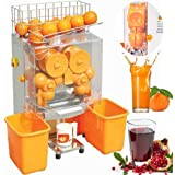 VEVOR Electric Juicer Commercial Orange Squeezer Machine Stainless Steel, 40-80mm/22-