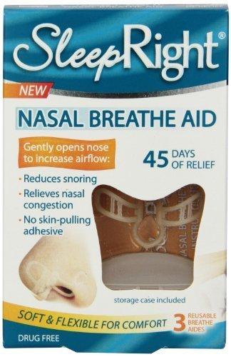(SleepRight Breathe Aid Pack of 3 by Splintek Inc)