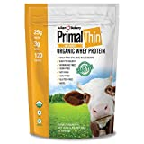Primal Protein Powder® USDA Organic 2.0lbs (Certified Grass Fed Rumiano's Whey) (30 Servings) (2 Lbs Unflavored) Review