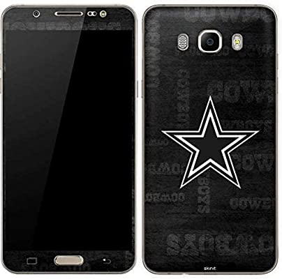 NFL Dallas Cowboys Galaxy J7 piel – Dallas Cowboys blanco y negro ...
