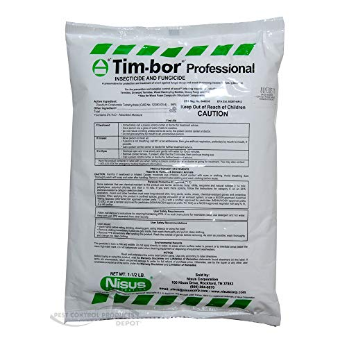 Tim-bor Professional Insecticide and Fungicide, 1.5 lb. bag (Powder Beetle Post)
