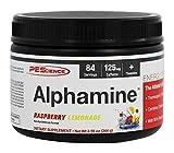 PEScience Alphamine, Raspberry Lemonade, 8.9 Ounce, 84 Servings