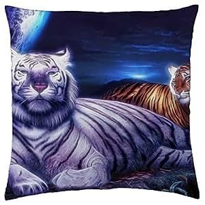 Big Wild Cats - Throw Pillow Cover Case (18