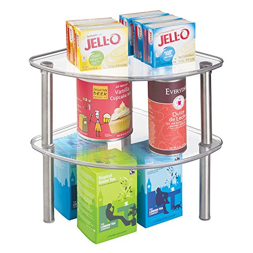 Buy Free Standing Kitchen Cabinets: MDesign Free Standing Corner Storage Shelf For Kitchen