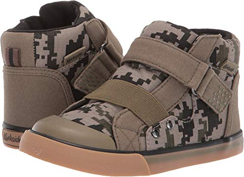 (Kurkside Baby Boy's Barca (Toddler/Little Kid) Green Camo 8 M US)