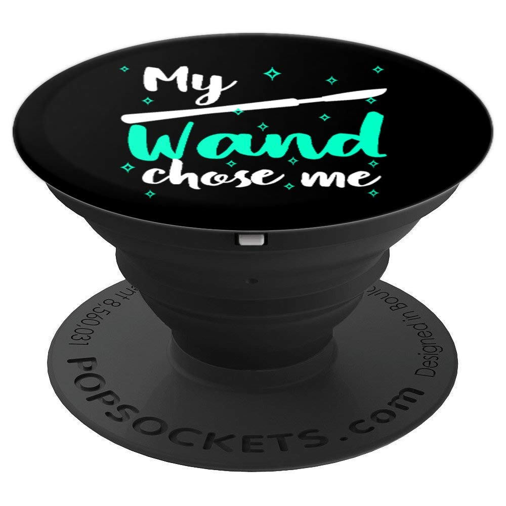 Surgeon Scrub Tech Surgery Resident Funny Wand Chose - PopSockets Grip and Stand for Phones and Tablets by Surgery Tees by K