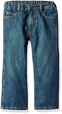 Wrangler Toddler Boys' Authentics Bootcut Jean, Rustic Blue, 3T