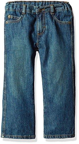 Wrangler Authentics Toddler Boys' Bootcut Jean, rustic blue, 2T