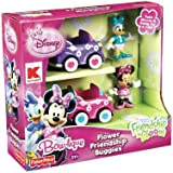 Disney Junior Mickey Mouse Clubhouse MINNIE MOUSE BOW-TIQUE Friendship in Bloom Exclusive FLOWER FRIENDSHIP BUGGIES with Minnie Mouse and Daisy