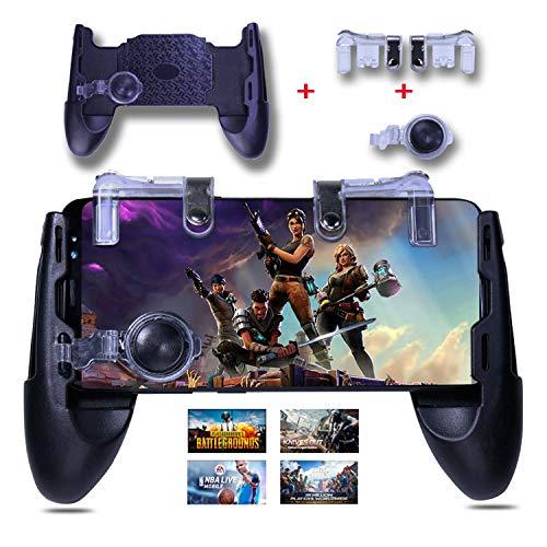 Mobile Game Controller - 3 in 1 Gaming Joystick, Stand, Trigger, Holder, Shooter for Fortnite/PUBG Mobile/Rules of Survival