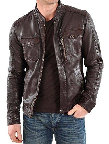 FS Lambskin Leather Men's Leather Jacket