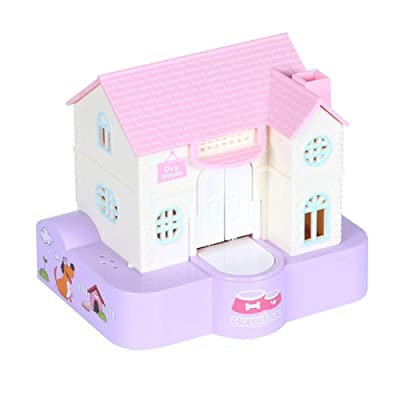 REFAHB Music Money Box, Dog House Piggy Bank, Saving Box Puppy Stealing Money Bank with Music Playing: Toys & Games