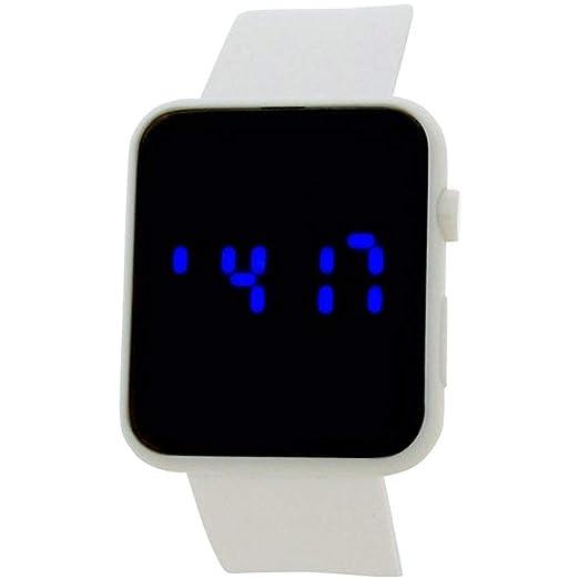 Reflex Reloj Unisex de Digital con Correa en Silicona REF0078: Amazon.es: Relojes