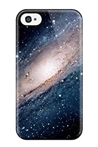 New Arrival Case Cover With RbBrOjZ937TrEQX Design For Iphone 4/4s- Andromeda Galaxy