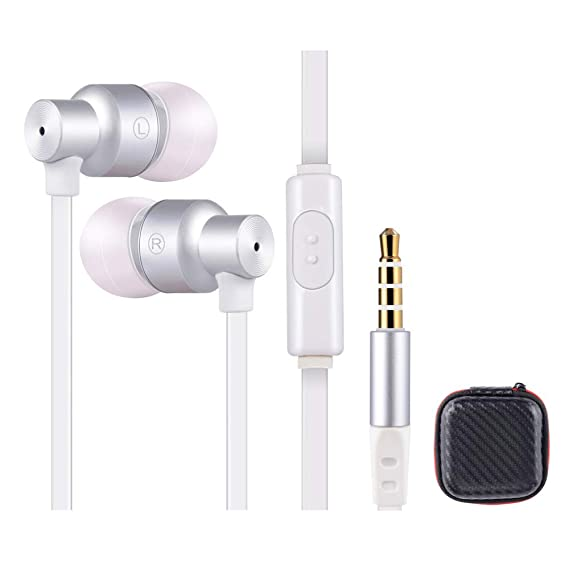 Earbuds Compatible Samsung Headphones with Microphone - Audifonos for  Samsung Earbuds with Mic for Samsung Earphones Bass Ear Buds Compatible  Samsung