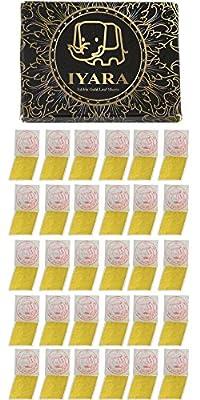Edible Gold Leaf Sheets 30pc M-size 24 Karat