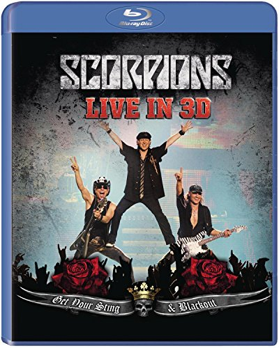 Blu-ray : Scorpions - Get Your Sting and Blackout Live 2011 In 3D (Blu-ray)