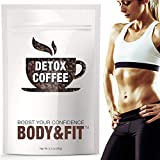 [Upgraded] Detox Coffee with 100% Arabica – Powerful Natural Ingredients, Cleanse and Detox Body, Supports Weight Loss, Fast Results, Great Taste –FDA Certified and Organic (30 Servings) For Sale