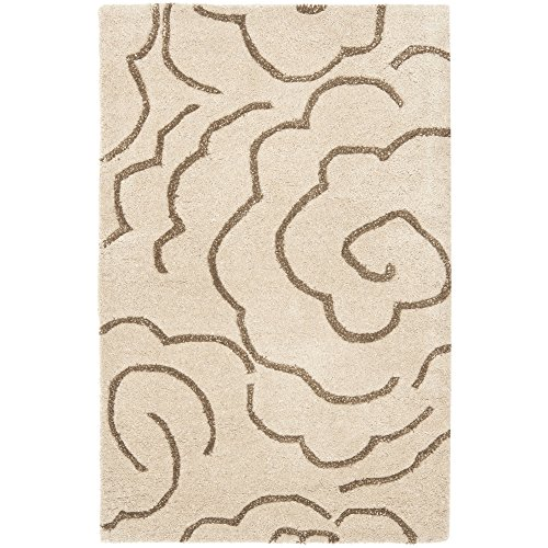 Soho Beige Rug Rug - Safavieh Soho Collection SOH812E Handmade Beige and Multi Premium Wool Area Rug (2' x 3')