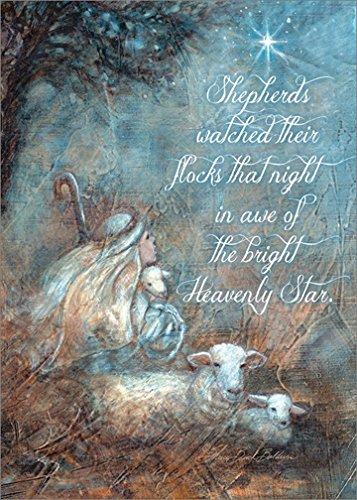 Shepherd Boy: Sherri Buck Baldwin - LPG Religious Box of 18 Christmas Cards