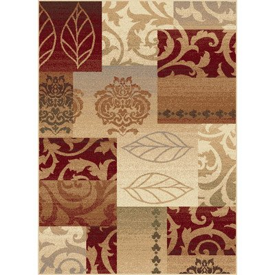 Impressions Multi Classic Collage Contemporary Rug