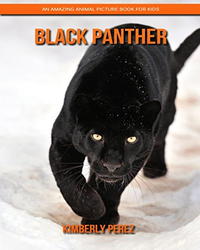 Black Panther: An Amazing Animal Picture Book for Kids