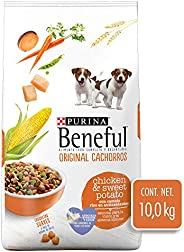 Purina Beneful Original Cachorros Pavo y Camote 10Kg