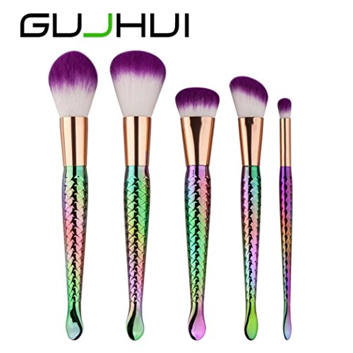 SMTSMT Super Soft 5PCS Make Up Foundation Eyebrow Eyeliner Brush