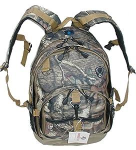 Deluxe Large Backpacks Oakwood Outdoors Camo Weather Resistant Multipocket Schoolbag/backpack