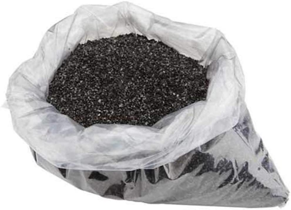 Oceanic Water Systems Coconut Shell Activated Granular Carbon Media-1/2 Cubic Ft | 12x40 Mesh-Replacement Media for Water Filters, Black