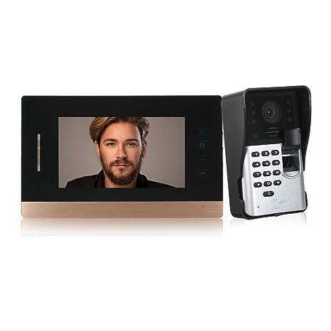 Surprising Festnight 7 Inch Wired Video Doorbell Visual Hands Free Amazon In Wiring Database Gramgelartorg