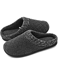 Men's Knit Collar Memory Foam Slip-On