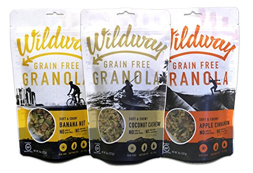 Wildway Vegan Granola No Gluten, Variety (3 Pack) (Facts About Oz The Great And Powerful)