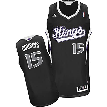 buy popular da39e 952ca ... navy blue white embroidery sale cab34 f72b1  authentic demarcus cousins  15 sacramento kings adidas youth swingman nba jersey large 18d26 931d0