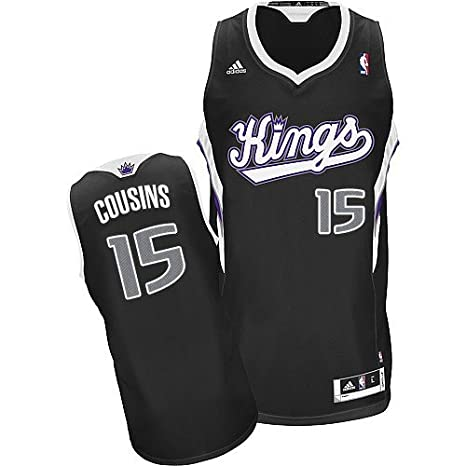 142c30f47480 DeMarcus Cousins  15 Sacramento Kings Adidas YOUTH Swingman NBA Jersey  (Large)