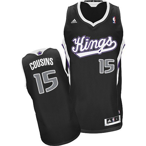Sacramento Kings Youth Jersey - DeMarcus Cousins #15 Sacramento Kings Adidas YOUTH Swingman NBA Jersey (Large)