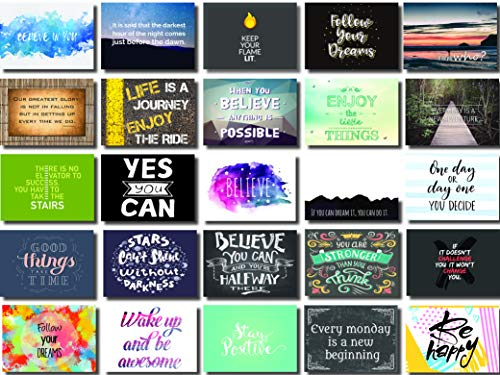 (Inspirational & Motivational Mini Note Cards)