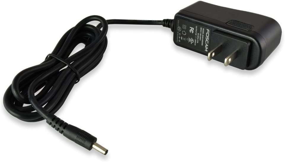 AC//DC Adapter Power Cord for Foscam Wireless Camera FI8909W FI8910W FI8905E