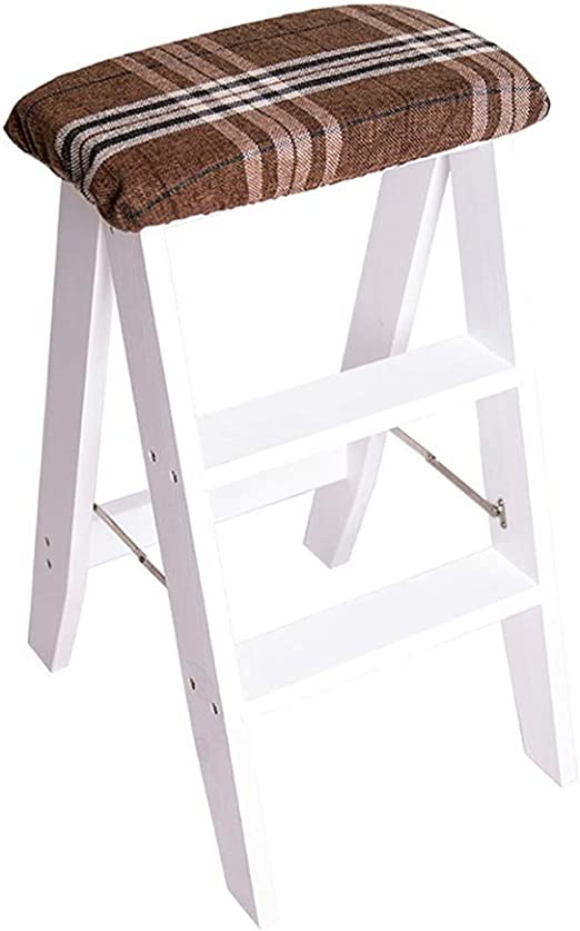 Kitchen stool Taburetes Escalera Taburete Taburete Escalera Escalera Plegable Multifunción Creativo Taburete Portátil Pino Taburete De Tres Pasos Cocina De Casa Escalera Plegable: Amazon.es: Hogar