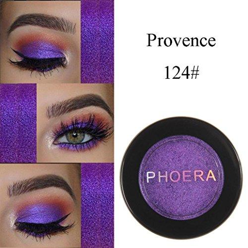 Exteren Natural Eye Shadow Makeup Shimmering Cosmetic Pearl Metallic Smoky Eyeshadow Palette (X)
