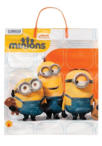 Despicable Me 2 Minion Halloween Trick or Treat Candy Plastic Bag ()