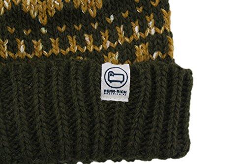 Verde Pon Military Cappello Pennrich Woolrich Donna Green Beanie qOZt0tn5xw